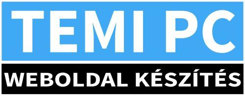 TEMI PC weboldal készítés
